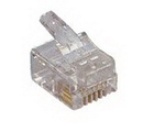 IEC MP06M RJ11 6 Position Modular Plug for Stranded Wire