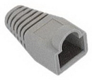 IEC MP08H-GY RJ45 Modular Strain Relief Boot - Gray