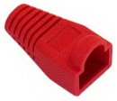 IEC MP08H-RD RJ45 Modular Strain Relief Boot - Red