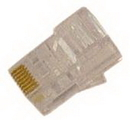 IEC MP08M-S RJ45 8 Position Modular Plug for Solid and Stranded Wire