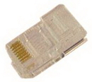 IEC MP08M RJ45 8 Position Modular Plug for Stranded Wire