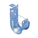 IEC PL13021 Cable Support J Hook - 2 Inch, Angled Bracket