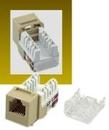 IEC RH1106F-MT-IV RJ1106 Female Narrow Keystone Connector Ivory Category 3