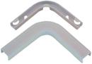 IEC WM1308 Flat Elbow Corner With Base 3/4 inch White