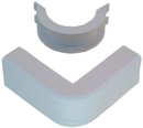 IEC WM1324 Outside Corner With Base 1-3/4 inch White