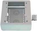 IEC WM1402 Double Gang Surface Mount Deep (1.85 inch deep) Box White