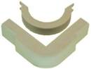 IEC WM2304 Outside Corner With Base 3/4 inch Ivory
