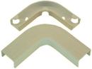 IEC WM2328 Flat Elbow Corner With Base 1-3/4 inch Ivory