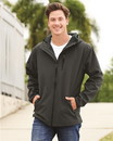 Independent Trading EXP35SSZ Poly-Tech Water Resistant Soft Shell Jacket