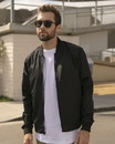 Independent Trading EXP52BMR Lightweight Bomber Jacket