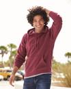 Independent Trading PRM33SBP Unisex Special Blend Raglan Hooded Pullover