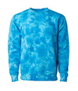 Independent Trading PRM3500TD Unisex Midweight Tie Dyed Crew