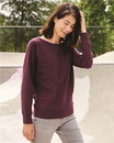 Independent Trading SS240 Lightweight Crew Neck Sweatshirt