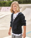 Independent Trading SS4001YZ Youth Midweight Zip Hooded Sweatshirt