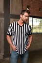 In Your Face Apparel C02 Men's V-Neck Referee Shirt