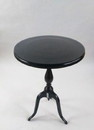 India Overseas Trading AL114G Aluminum Table - Black Finish