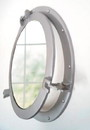 India Overseas Trading AL 48610 Aluminum Porthole with Mirror, 17
