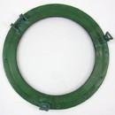 India Overseas Trading AL 486110A Green Aluminum Porthole with Glass, 20