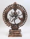 India Overseas Trading AL50282 - Aluminum Statue - NATRAJ Copper Finish