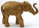 India Overseas Trading AL60731B Ambari Elephant (Gold Finish)