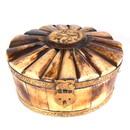 India Overseas Trading BN 108 BONE TRINKET BOX Vintage Camel Bone Jewellery Box
