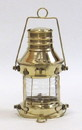 India Overseas Trading BR 1524 Solid Brass Anchor Lamp Oil Lamp
