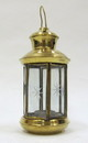 India Overseas Trading BR15312 - Brass Candle Lantern