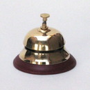 India Overseas Trading BR 1856 Brass Table Bell