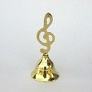 India Overseas Trading BR 18902 Brass Music Bell, C BX