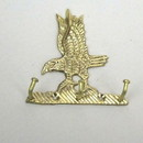 India Overseas Trading BR 20241 Brass Eagle Key Hanger
