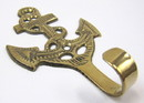 India Overseas Trading BR 20243 Solid Brass Anchor, Key Holder