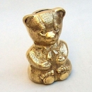 India Overseas Trading BR2064 - Solid Brass Bear Bank
