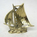 India Overseas Trading BR 2080X Brass Sail Boat, C BX