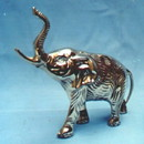 India Overseas Trading BR 20951 Elephant, Brass