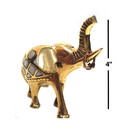 India Overseas Trading BR20955 - Brass Elephant MOP