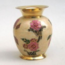 India Overseas Trading BR 21613 Solid Brass Vase, Enamel