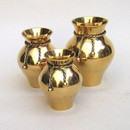 India Overseas Trading BR 21763 Brass Rope Vase Set 3
