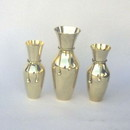 India Overseas Trading BR 2176 Solid Brass Vase Set with Tie Rope