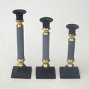 India Overseas Trading BR 2219 Roman Candle Holder Set 3