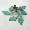 India Overseas Trading BR2220 - 5 Leaf Candle Holder