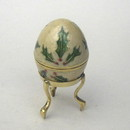 India Overseas Trading BR 2336A Brass Christmas Egg