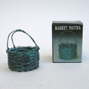 India Overseas Trading BR 2511X Patina Basket, Assorted