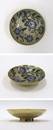 India Overseas Trading BR 25174 Solid Brass Bowl, Enamel