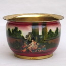 India Overseas Trading BR 25793 Brass Picture Planter
