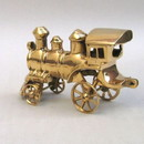 India Overseas Trading BR 2806 Solid Brass Choo Choo Train