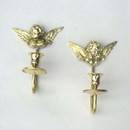 India Overseas Trading BR 31411 Angel Wall Candle Holder Set of 2