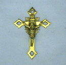 India Overseas Trading BR 3603 Solid Brass Cross, C BX