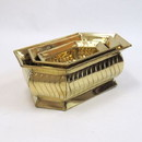 India Overseas Trading BR 4147 Solid Brass Nested Planter Set 3