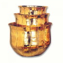India Overseas Trading BR4325 - Brass Planter Set