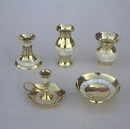 India Overseas Trading BR4426 Brass Gift Set, Mother Of Pearl